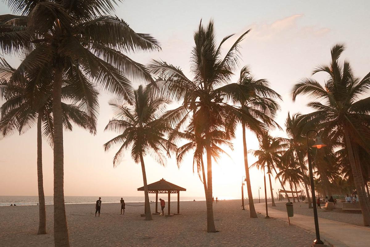 salalah-strand-palmen-sonnenuntergang