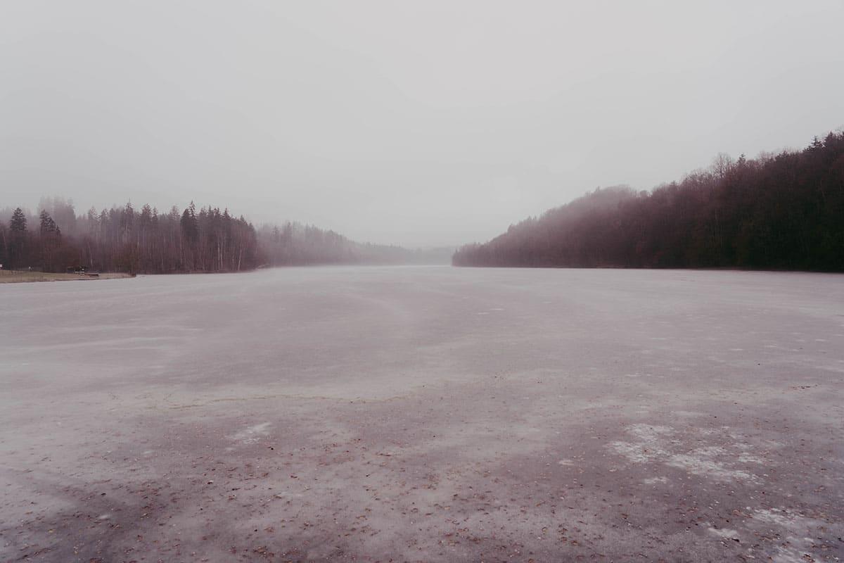 passau-halser ilzschleifen-stausee-winter-landschaft
