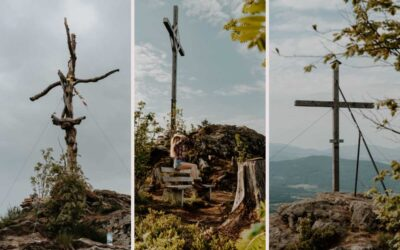 1 Tour – 3 Gipfel: Rundwanderung Heugstatt, Enzian und Hochstein Bayerischer Wald