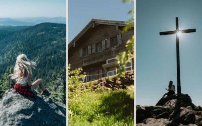 Rundweg Großer Arber über Kleiner Arbersee: Panoramagigant Bayerischer Wald
