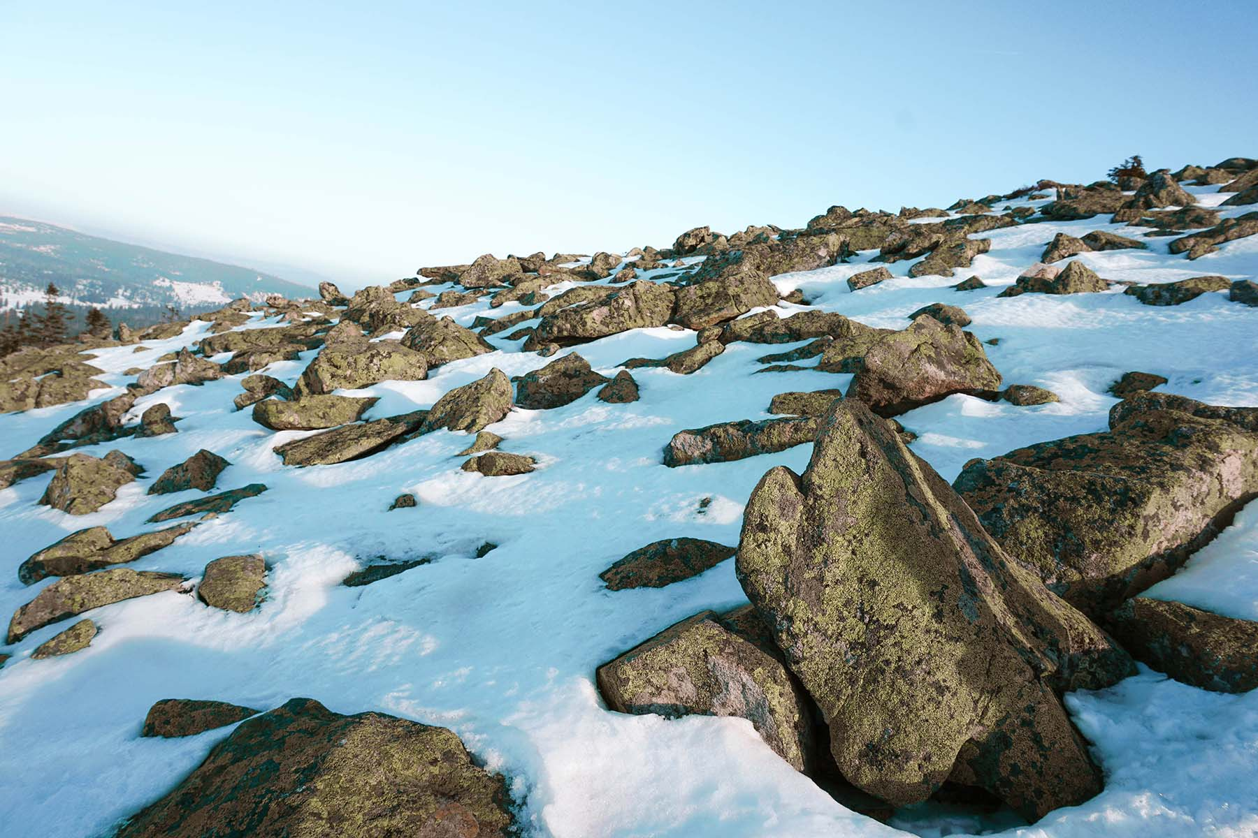 winterwanderung-lusen-blockmeer-schnee-winter